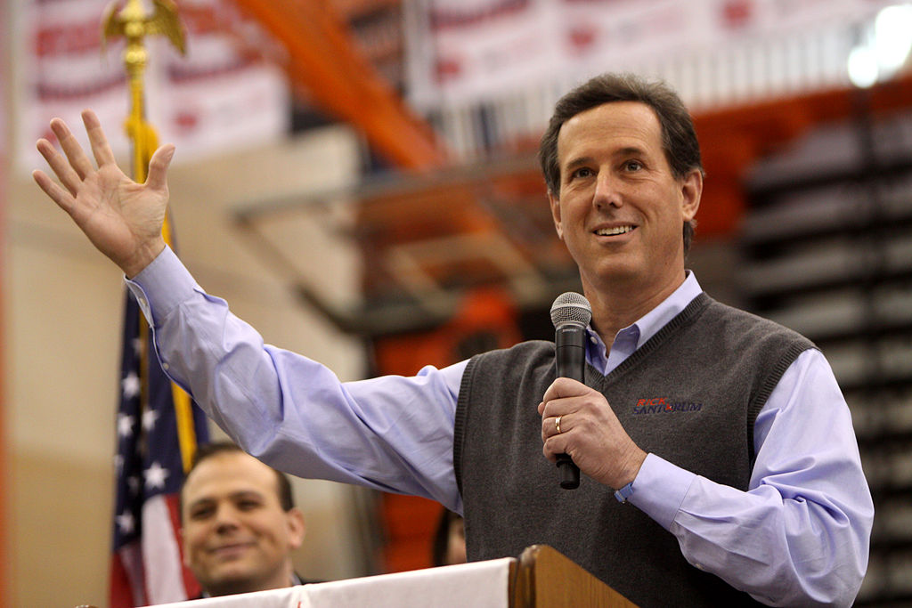 Rick Santorum, Wiki Commons: Gage Skidmore
