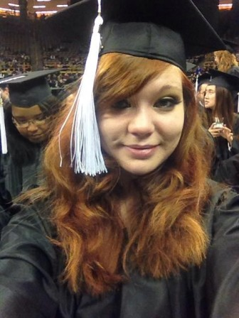 Alexandra Bushby, a December 2013 University of Iowa graduate.