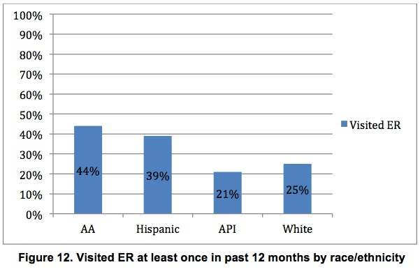 """Graphic from """"Health Disparities Among Children in Iowa,""""by the University of Iowa Public Policy Center, Iowa Department of Public Health, Child Health Specialty Clinics."""