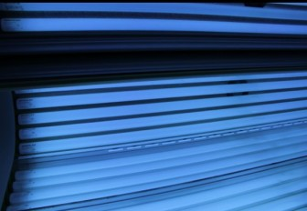 Using a tanning bed is considered to be a health risk.