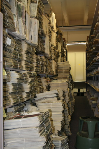 Following budget cuts in 2009, the historical society no longer has funds to microfilm the papers.