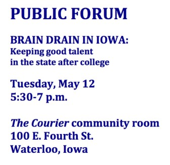 Brain Drain_Waterloo poster art