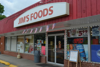 Jim's Foods, 812 6th St SW, sells lottery tickets and pull-tabs. The store, pictured on July 27, 2015, is located in the Cedar Rapids' zip code 52404, which has a median household income of $45,973.