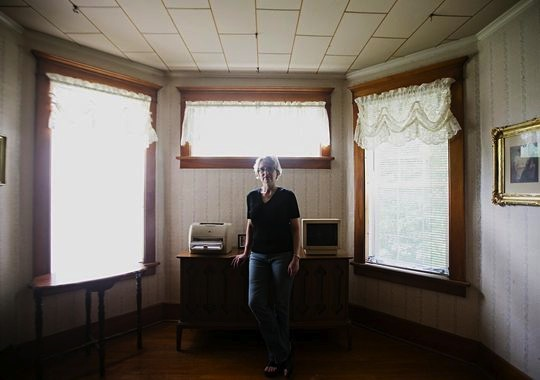 Jody Ewing at her home in Onawa on Thursday, June 25, 2015.