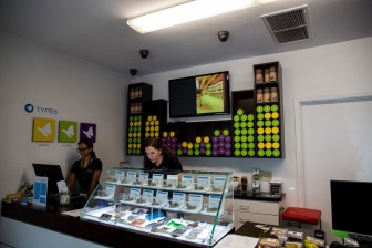 An Arizona dispensary for legalized marijuana.