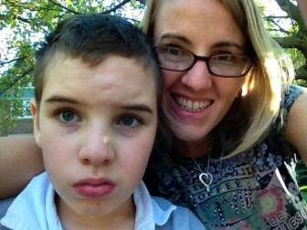 Maria La France, founder of Iowans for Medical Marijuana have seen a glimmer of hope for her son, Quincy, who has suffered from severe seizures since age 2.