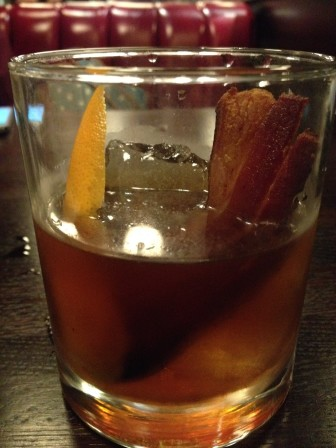 A Tipsy Pig cocktail featuring bacon bourbon provides one of the many ways bacon has become increasingly popular.