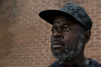 Duane Ronald Neal, 57, is a resident of the West End, a low-income neighborhood in downtown Cincinnati. He feels if you don't vote, you can't complain about the outcome. Constant shootings in the community have led to a disillusioned feeling among voters, particularly African-Americans, who feel their votes don't matter because they have yet to see a positive change.