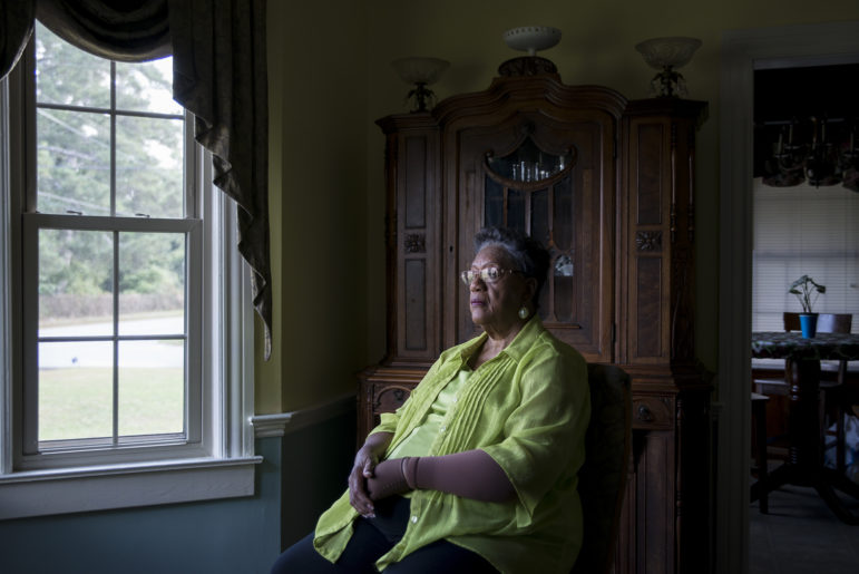 """Edith Ingram, 74, is just called """"The Judge"""" by many people in Sparta, Georgia, after being elected in 1968 as the first black probate judge in the United States. On her first day of work, white men stood at the base of the courthouse and threatened to shoot her in the back if she walked up the steps. She did anyway, and remained in office for over three decades."""