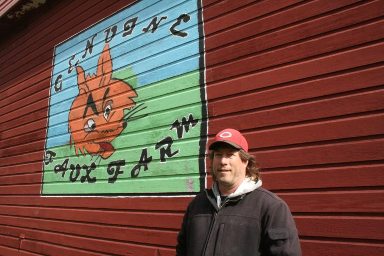 Rob Faux, along with his wife Tammy, operate Genuine Faux Farm, a CSA that reaches more than 100 members.