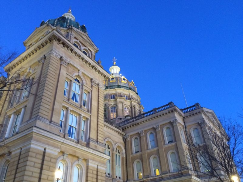 Stray Thoughts columnist Randy Evans writes about a bill up for debate at the Iowa Statehouse in Des Moines. IowaWatch file photo